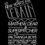 New Year's Eve with Matthew Dear and Superpitcher