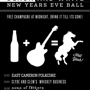 The White Horse Second Annual Black & White New Years Eve Ball!