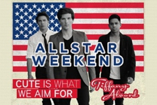 Allstar Weekend with Cute Is What We Aim For, TIffany Alvord