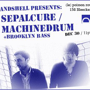 Machinedrum, Sepalcure, Brooklyn Bass