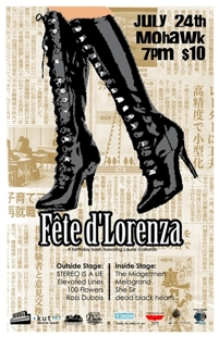 Fte d'Lorenza: A birthday bash honoring Laurie Gallardo w/ STEREO IS A LIE, The Midgetmen &amp; more! - RSVPS closed! $10 at the d