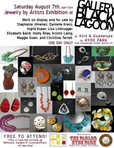 Jewelry by Artists Exhibition - Free to Attend! 2pm-7pm