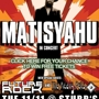 Matisyahu, Future Rock, The Heavy Pets (outdoors)