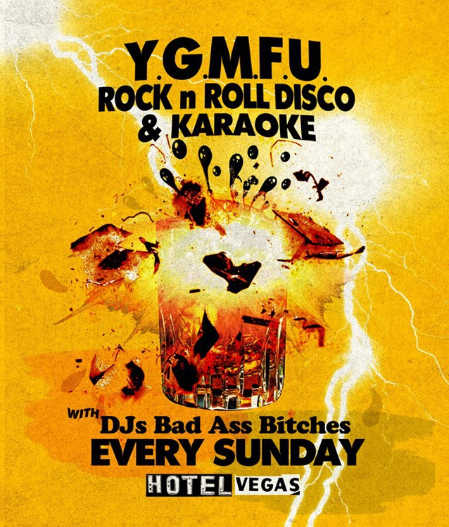 YGMFU Rock n Roll Disco &amp; KARAOKE