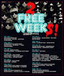 Free Week YGMFU Rock n Roll Disco with Popular Culture, Part Time