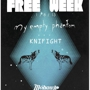 Free Week My Empty Phantom + Knifight+Tacks, The Boy Disaster+Nation States