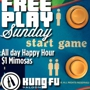 All Day Happy Hour and Freeplay Game Play!