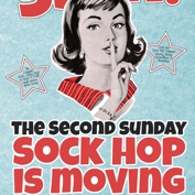 Second Sunday Sock Hop MOVES to the White Horse!!