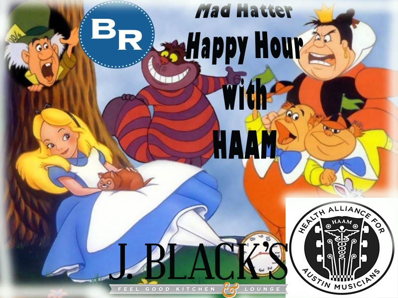 Mad Hatter Happy Hour with HAAM