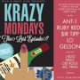 KRAZY MONDAYS/ THE LAST EPISODE/ TONIGHT / at THE BEAUTY BAR SF / #WNKK