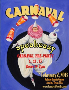 OFFICIAL Pre-Carnaval Kick-Off Party at Speakeasy!