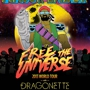 Free the Universe World Tour: MAJOR LAZER - DRAGONETTE - ZEBO