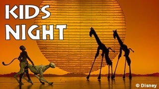 Kids Night at the Lion King