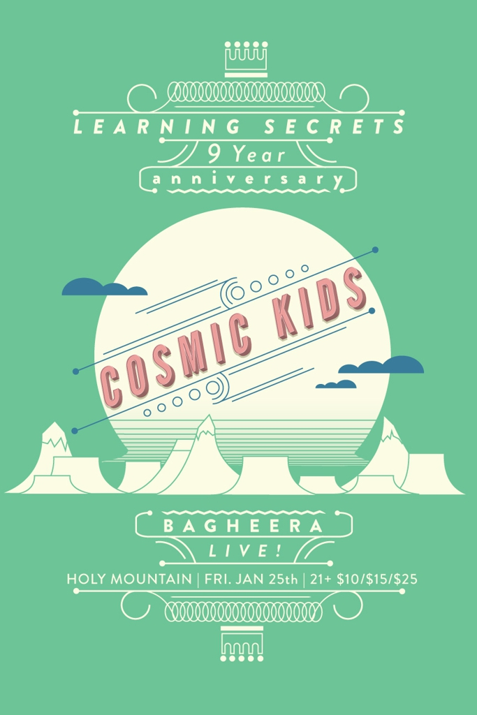 Learning Secrets 9 Year Anniversary w/ COSMIC KIDS & BAGHEERA!