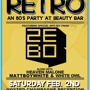Champagne Retro - An 80's Party w/ Zebo