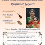  A Soulful Evenig of South Indian Classical Music by Ranjani and Gayatri