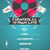 Turntables on Town Lake