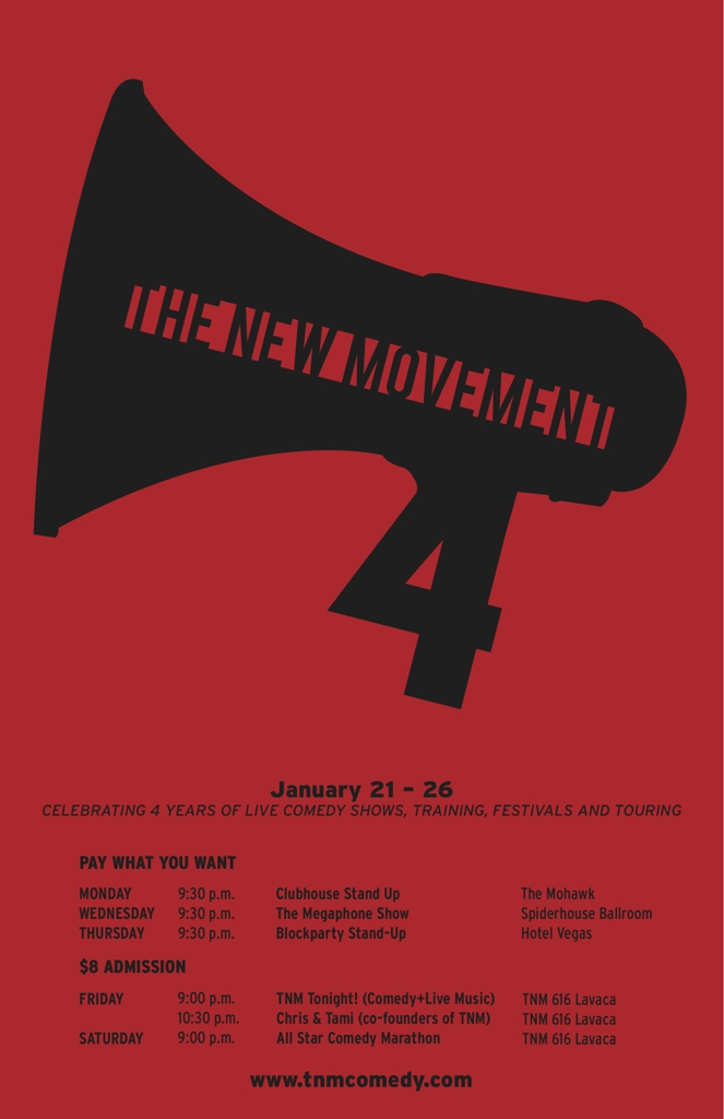 The New Movement's 4 Year Anniversary: Clubhouse Stand Up