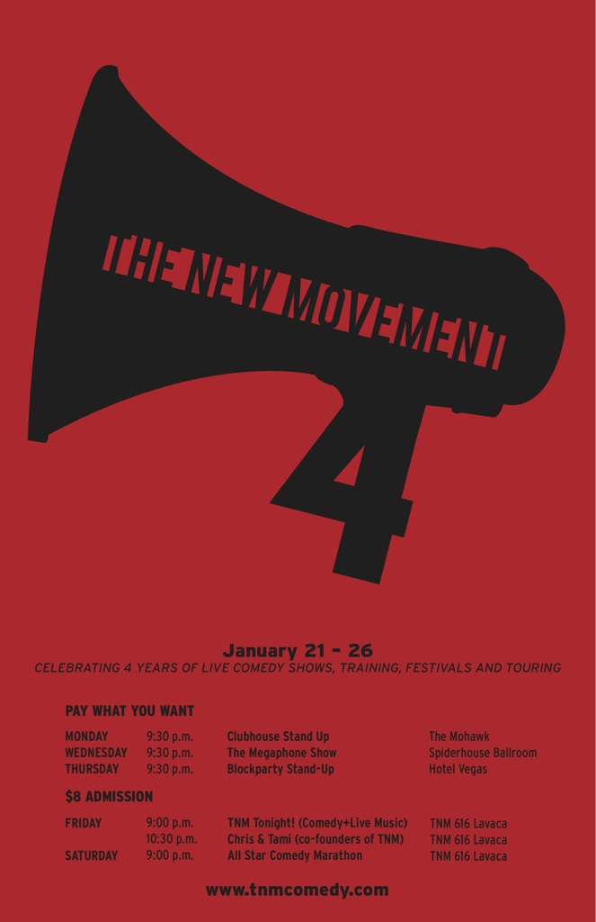 The New Movement Theater's 4 Year Anniversary: Blockparty