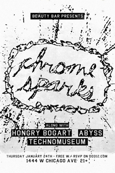 Chrome Sparks [DJ Set] - FREE w/ RSVP