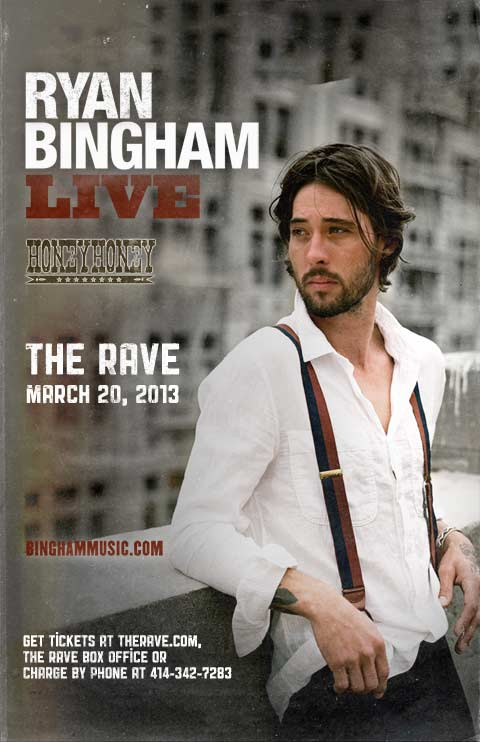 RYAN BINGHAM, Honey Honey