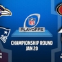 NFL Championship Sunday 49'ers VS Falcons, Ravens VS Patriots