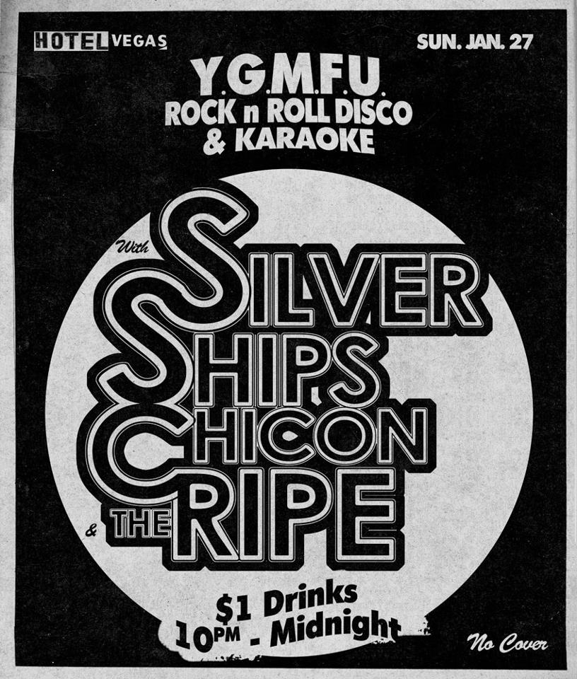 Silver Ships, Chicon, The Ripe, +DJs