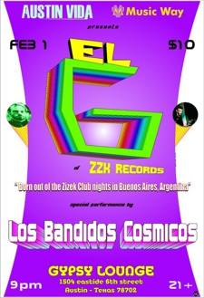 Austin Vida & Music Way present El G of ZZK Records