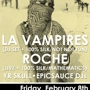 Push The Feeling: La Vampires (DJ Set ) + Roche (Live) + YR SKULL + epicsauce DJs