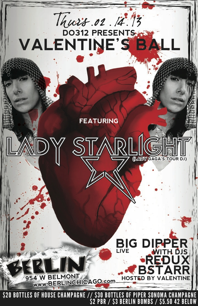 Lady Starlight, w/ Breedlove, Big Dipper, Redux, &amp; BSTARR