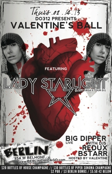 Do312 Presents! Lady Starlight, w/ Breedlove, Big Dipper, Redux, &amp; BSTARR