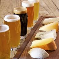 Winesday now featuring Beer Flights with cheese from Henri's