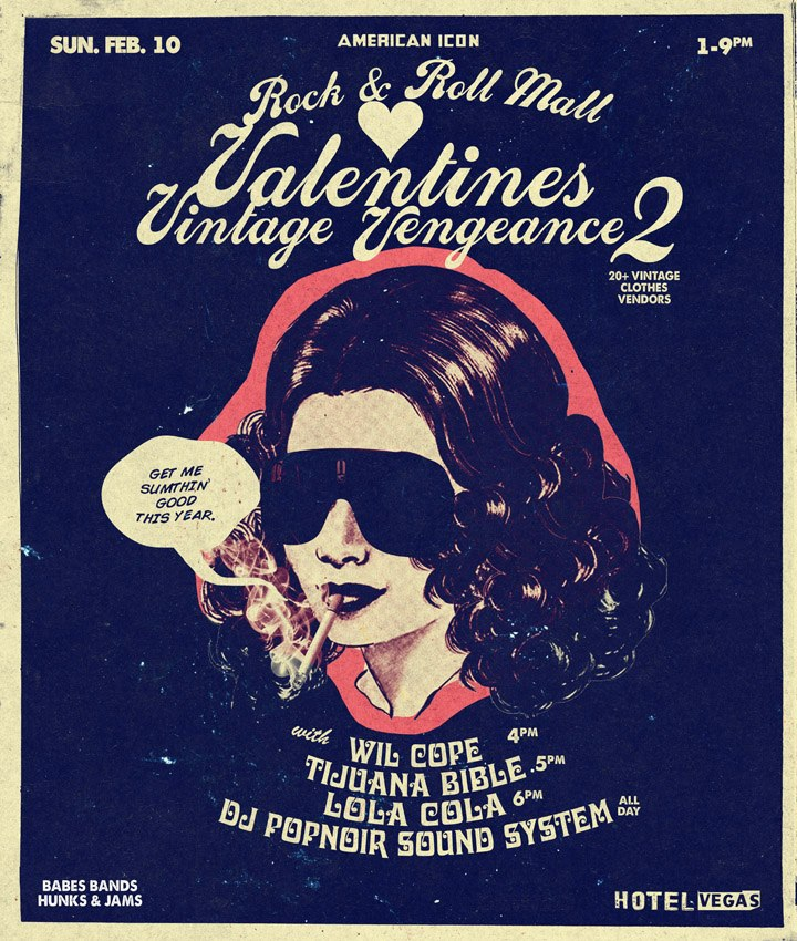 American Icon Rock N Roll Mall- VALENTINES VINTAGE VENGEANCE #2