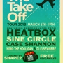 The Take Off Tour 2013 - Day One @ Dizzy Rooster (Free w/ RSVP on Do512)