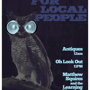 Local Night: Antiques + Oh Look Out + Matthew Squires and the Learning Disorders