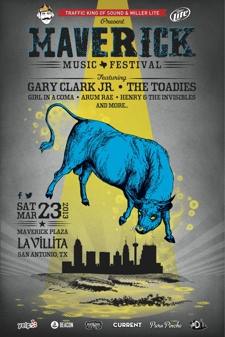 Maverick Music Festival featuring Gary Clark Jr., The Toadies and more!