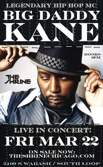 Big Daddy Kane - RSVP is now Closed
