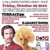  Do512 and Speakeasy Host: Burgundy and Lace Halloween Party 