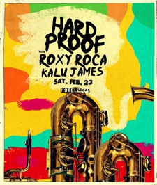 HARD PROOF & ROXY ROCA Part 5: The Phantom Funk with Kalu James