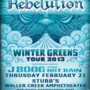 Rebelution with J Boog, Hot Rain