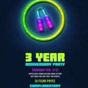 Three Year Anniversary Party!