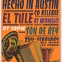"Austin Vida presents El Tule's 'Hecho In Austin"" CD Release"