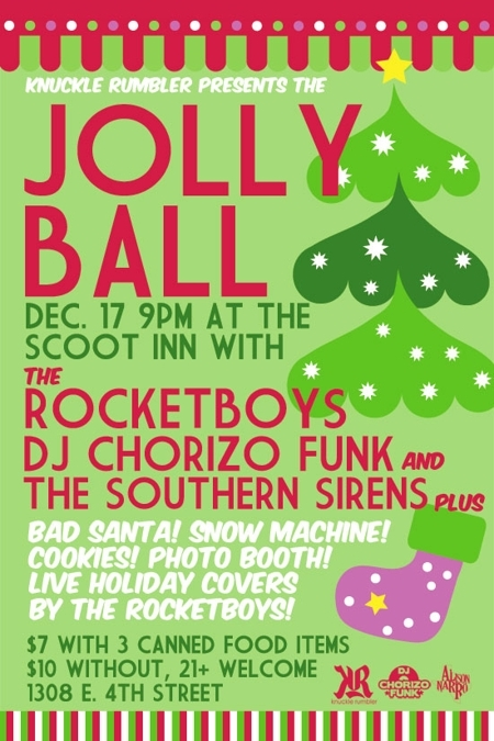 KNUCKLE RUMBLER PRESENTS: THE JOLLY BALL