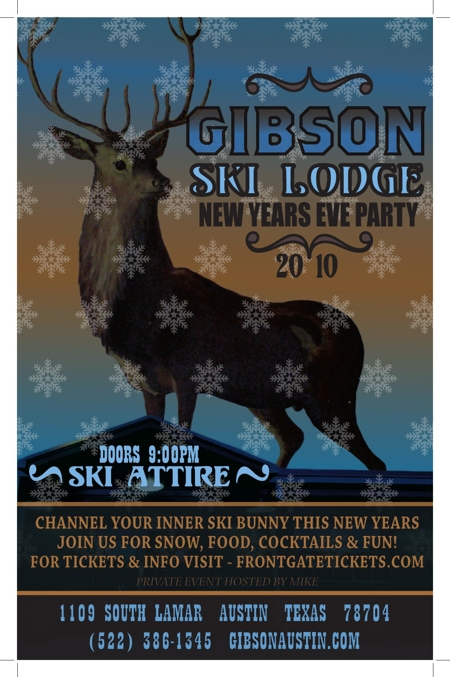 Gibson's New Year's Eve Ski Lodge Party
