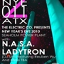 New Years Eve at Seaholm Power Plant Presented by The Electric Company Featuring: N.A.S.A. & Ladytron DJ Set w/ Reuben Wu