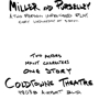 Miller & Purselley: An Improvised Play