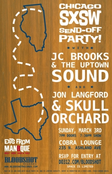RSVP is Now Closed! JC Brooks and the Uptown Sound with Jon Langford & Skull Orchard