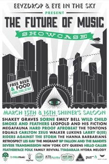 THE FUTURE OF MUSIC SHOWCASE - Day Two (Free w/ RSVP on Do512)