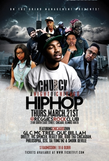 GLC / TREE / QUE BILLAH / DREEZY / VIC SPENCER / REALLY DOE / KiDD THA CHICAGOAN / PHILOSOPHA & MORE