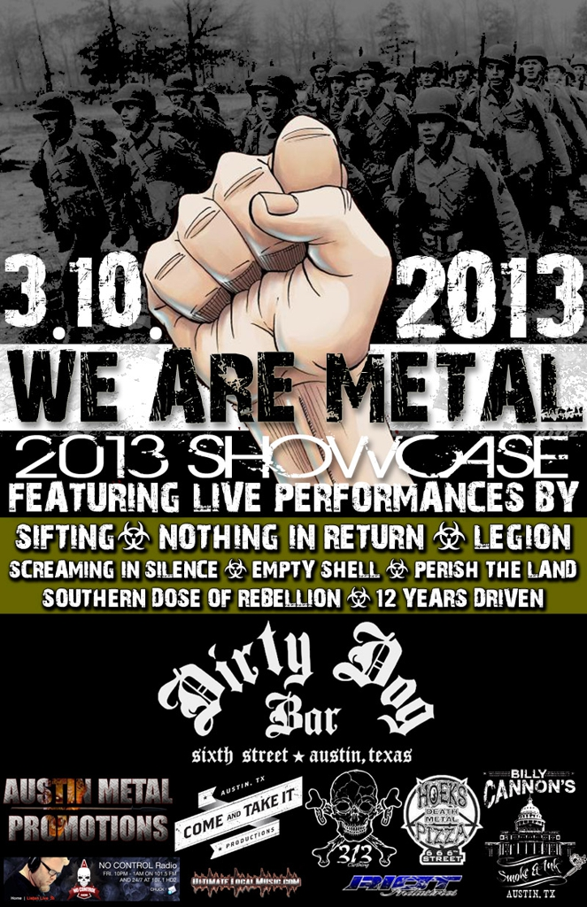 We Are Metal! (Free w/ RSVP on Do512)